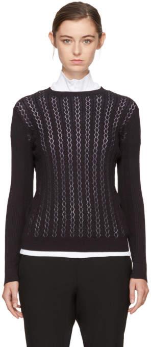 A.P.C. Black Boudoir Pullover