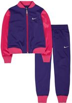 Nike Toddler Girl Baseball T Warm Up Tricot Jacket & Pants Set
