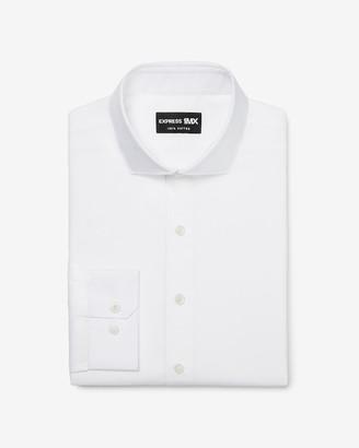 Express Slim Stretch Cotton Spread Collar 1Mx Dress Shirt