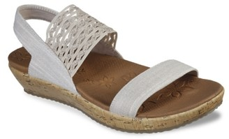 Skechers Cali Brie Most Wanted Wedge Sandal