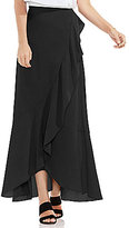 Vince Camuto Faux Wrap Ruffled Skirt