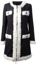 Moschino Cheap & Chic round neck coat