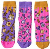 LittleMissMatched Girls 4-9 Little Miss Matched 3-pk. Scented Anklet Socks