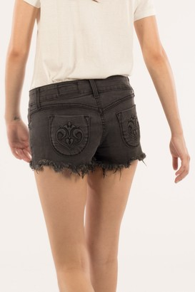 Siwy Women's Camilla Signature Short in Thunderstorm 28