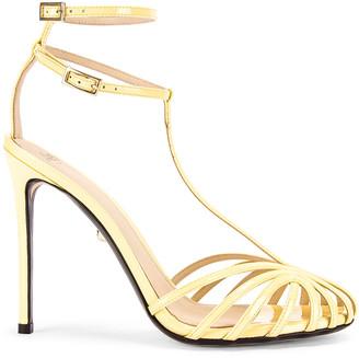 ALEVÌ Milano Stella Sandal in Patent Sun | FWRD