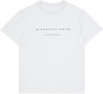 Alexander Wang x Lane Crawford logo embellished unisex T-shirt