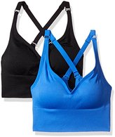 Spalding Women's Long Line Seamless Racerback 2-Pack
