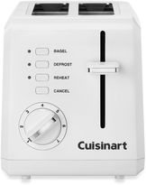 Cuisinart White Compact Cool-Touch 2-Slice Toaster