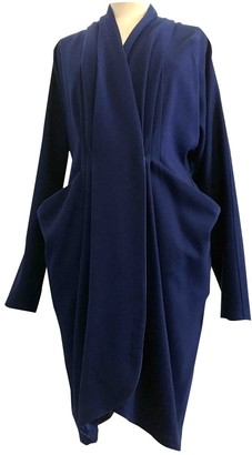Gianni Versace Blue Wool Jacket for Women Vintage