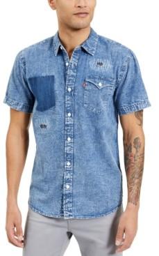 Levi's Men's Lightly Distressed Denim Shirt