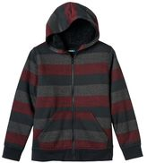 Boys 8-20 Tony Hawk Rugby-Striped Hoodie