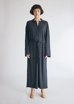 Lemaire Polo Shirt Dress in Graphite