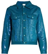Ashish Sequin-embellished denim jacket