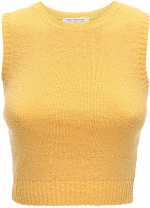 Bec & Bridge Lemon Squeezy Knit Crop Top