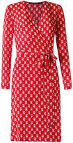 Reinaldo Lourenço - all-over print dress - women - Silk - 36