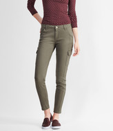 Color Wash Mid-Rise Cargo Jegging
