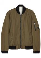 Boss Odorian Reversible Cotton Bomber Jacket
