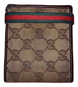 Gucci Beige Cloth Small bags, wallets & cases