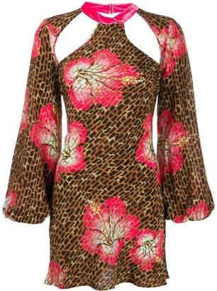 Rixo Antoinette hibiscus dress