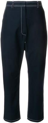 Thom Browne Contrast Stitch Trousers