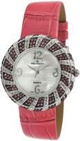 Peugeot Women's J1469PK Pink Swarovski Crystal Pink Watch