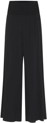 Theavant The Iconic Wide-Leg Silk Trousers