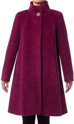 Cinzia Rocca Icons Icons Wool Blend Swing Coat