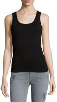 Three Dots Rocker Tank Top