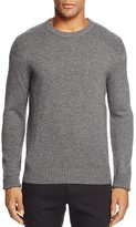 The Men's Store at Bloomingdale's Cashmere Mixed Stitch Crewneck Sweater