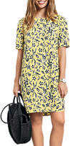 Hush Layla Dress, Woodblock Yellow
