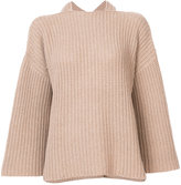Derek Lam 10 Crosby draped knitted top