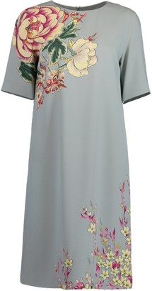 Etro Light Blue Shift Dress