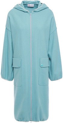 RED Valentino Wool-blend Hooded Coat