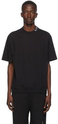 Valentino Black VLTN Collar T-Shirt