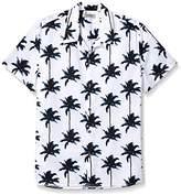 Kenneth Cole Reaction Men's Palm Halo Shirt