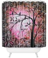 "DENY Designs Madart Inc. Cherry Blossoms Shower Curtain, 69"" x 72"""