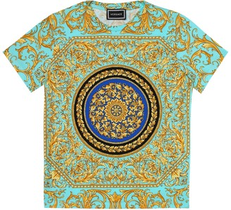 Versace Kids Printed cotton T-shirt