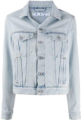 Off-White Short Denim Jacket