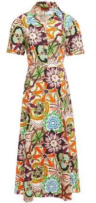 Missoni Printed Cotton-poplin Midi Dress