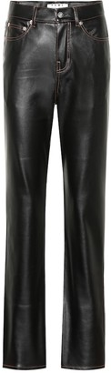 Proenza Schouler High-rise faux leather pants