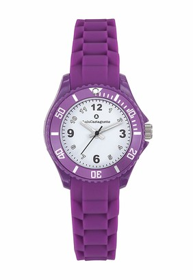 Lulu Castagnette Girls Analogue Quartz Watch with Silicone Strap 38869