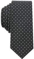 Bar III Men's Dot Skinny Tie, Created for Macy's