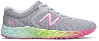 New Balance Lace-Up Colorblock Sneaker (Little Kid)