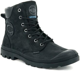 Palladium Pampa Cuff Lux Waterproof Lace-Up Boot