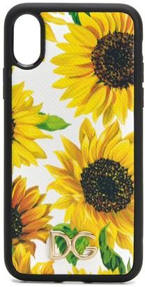 Dolce & Gabbana floral print iPhone X case
