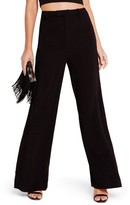 Missguided Women's Crepe Wide Leg Trousers