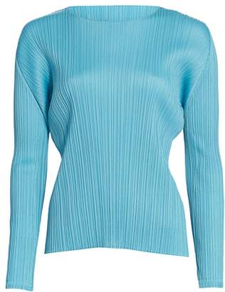 Pleats Please Issey Miyake Monthly Colors January Top