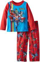 Komar Kids Justice League Ready to Battle Toddler Pajama Set for boys