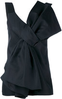 Victoria Beckham oversized bow top - women - Silk/Cotton - 6