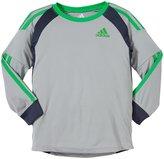 adidas Goal Keeper Jersey (Toddler/Kid) - Silver Gray-4